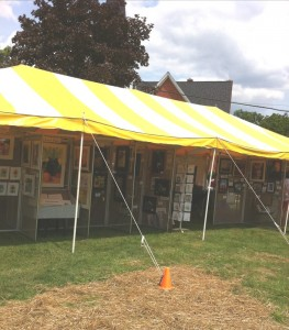 Our FAF Art Tent